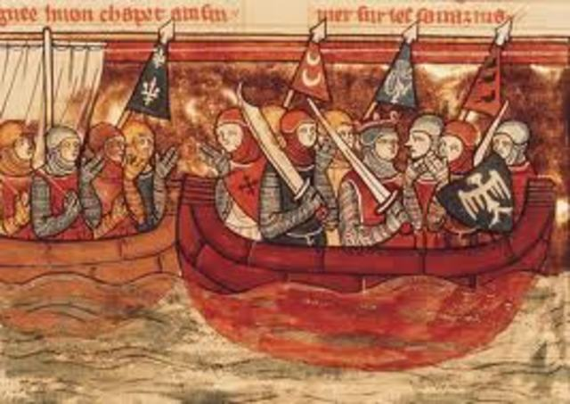 Retirada de los cruzados
