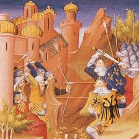 Apoderamiento de la fortaleza de los Templarios