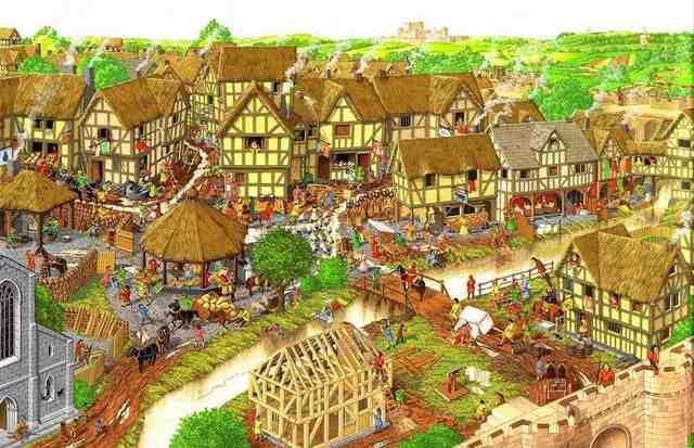 Cambio de Comercio en la Edad Media