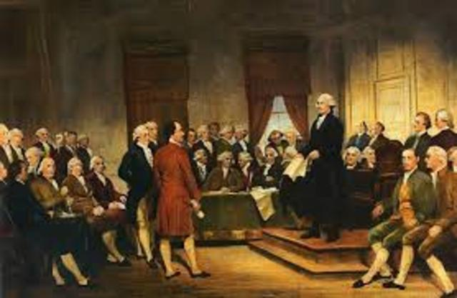 Writing of the Constitution