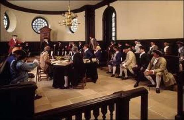 Founding of the Virginia House of Burgessess
