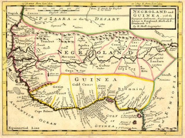 La costa de los esclavos