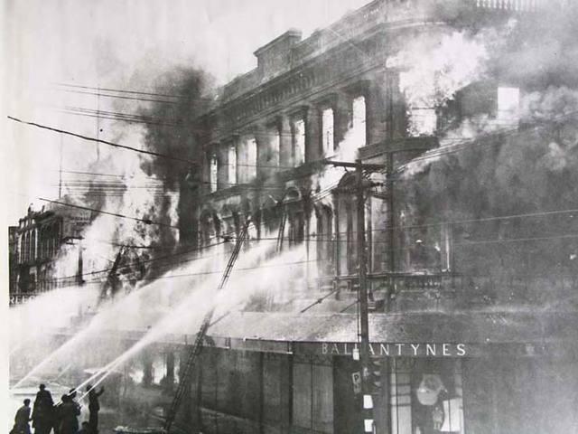 Ballantyne's fire