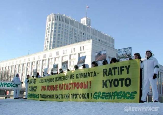 Rusia ratifica el Protocolo de Kyoto