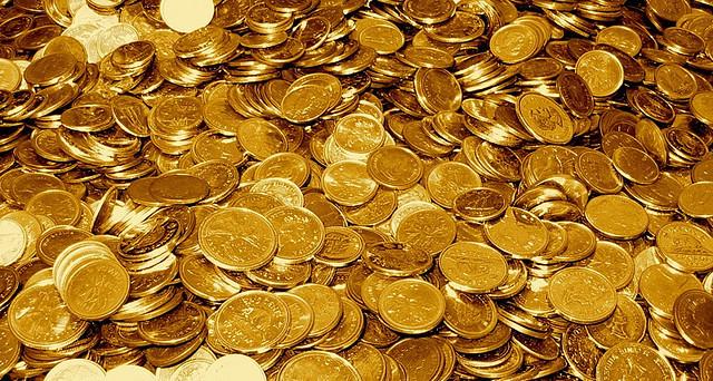Surgimiento de la moneda de Oro
