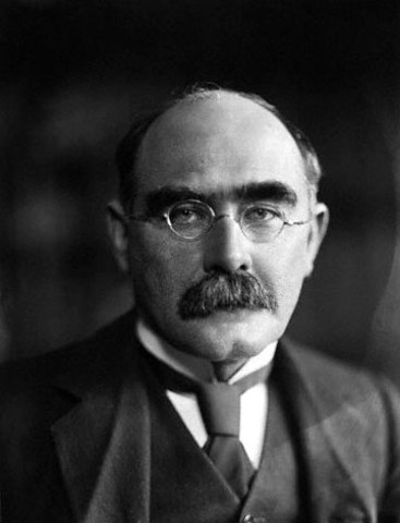 Rudyard Kipling receives the Nobel Prize