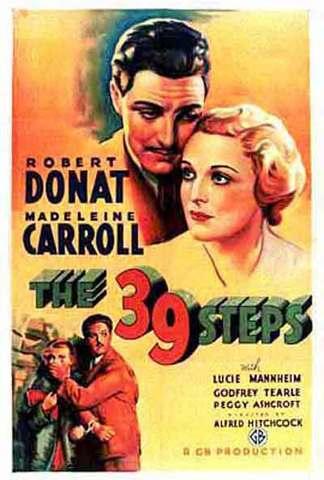 John Buchan -  ''The Thirty-Nine Steps''