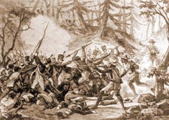 Victoria Insurgente en el Monte de las Cruces.