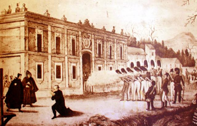 Morelos es fusilado en San Cristóbal Ecatepec.