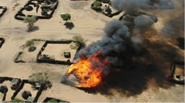 Darfur conflicts start