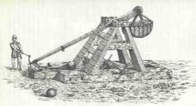 First use of the Trebuchet in Europe