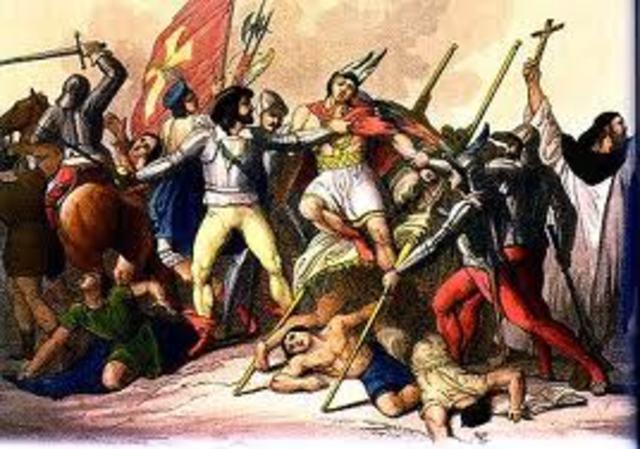 Pizzaro conquers the Incas