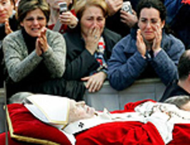 Morre Papa João Paulo.