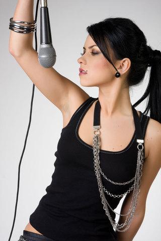 Debut como cantante