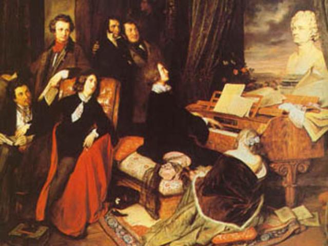 Neixen els primers compositors del Romanticisme.