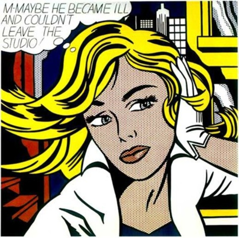 Pop Art by Roy Lichtenstein