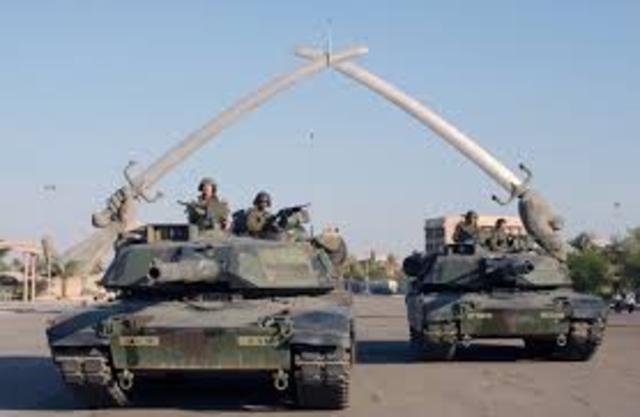 Britain joins invasion of Iraq