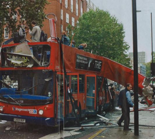 Suicide bombers kill 52 on London Underground Trains