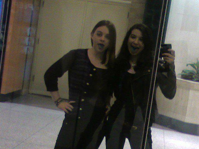 The first time me and my bestfriend of seven years ever hung out