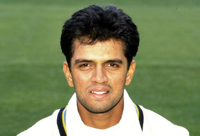 Dravid makes his first class debut