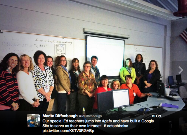 GAFE Training with Special Ed Leads