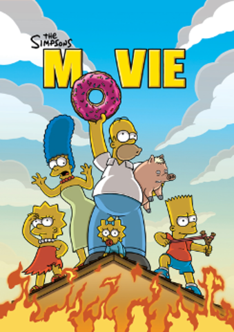 The Simpsons Movie Came Out