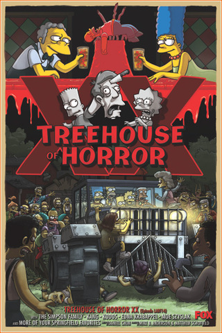 Tree House Of Horror Came Out.