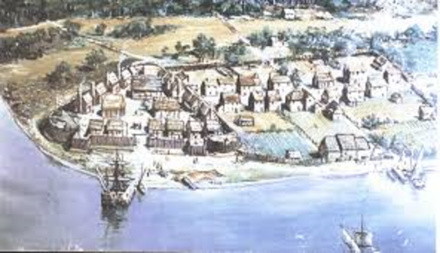 First permanent English settlement in North America is established at Jamestown, Virginia