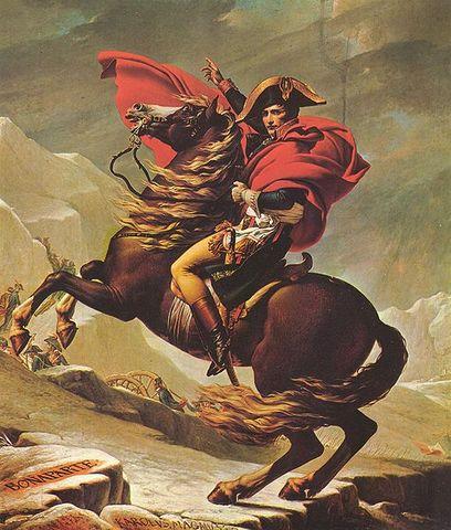 Napoleón Bonaparte toma el control de la república