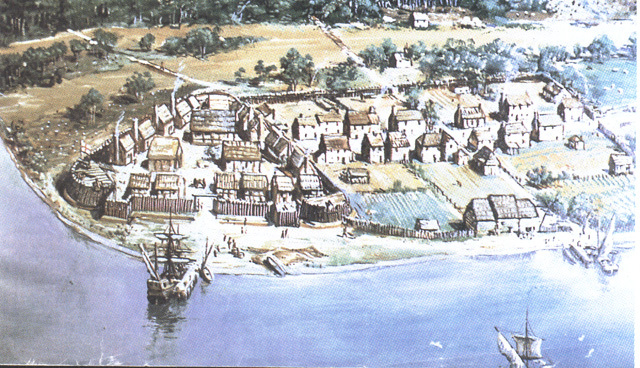 First pernanent English settlement in North America is established at Jamestown, Virgina.