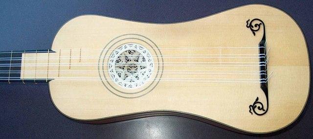 Guitarra Barroca