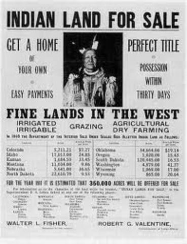 The Dawes Act Federal Indian Policy