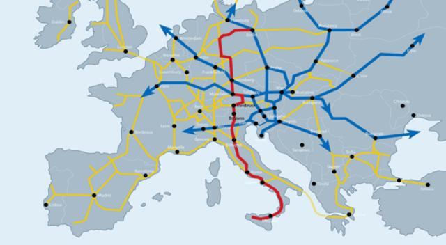 TEN %u2013 Achse Nr.1 - TEN %u2013 Achse Nr.1 - Kombinierter Verkehr Nord-Sued: Brennerachse Verona-Muenchen