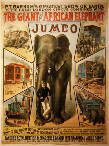 Jumbo travels across America