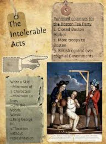 The Intolerable Acts (Part 2)