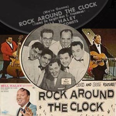 """""""(We're Gonna) Rock Around the Clock"""" is number 1"""