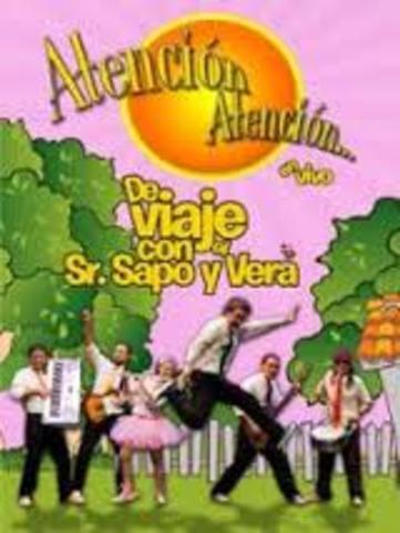 Atención Atención, De Vieje con el Sr.Sapo y Vera