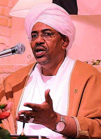 Omar Al Bashir becomes president