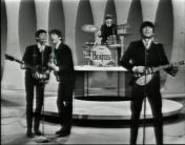 Beatles on Ed Sullivan show