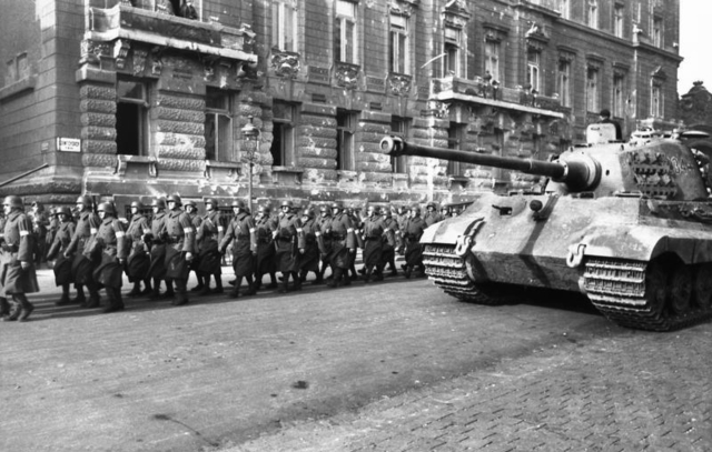 Germans forces occupy Hungary