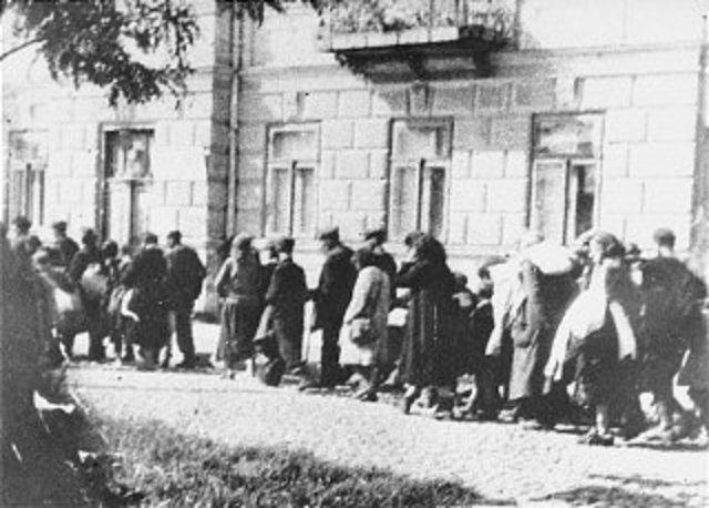 Mass Deportation of about 440,000 Jews