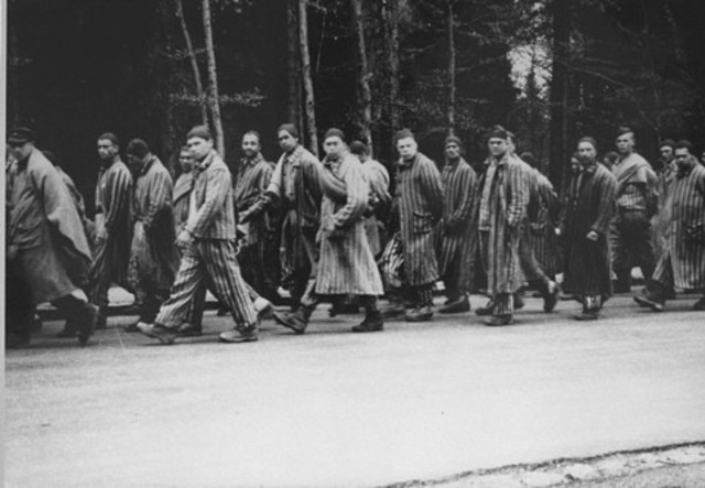 Death march of nearly 50,000 prisoners