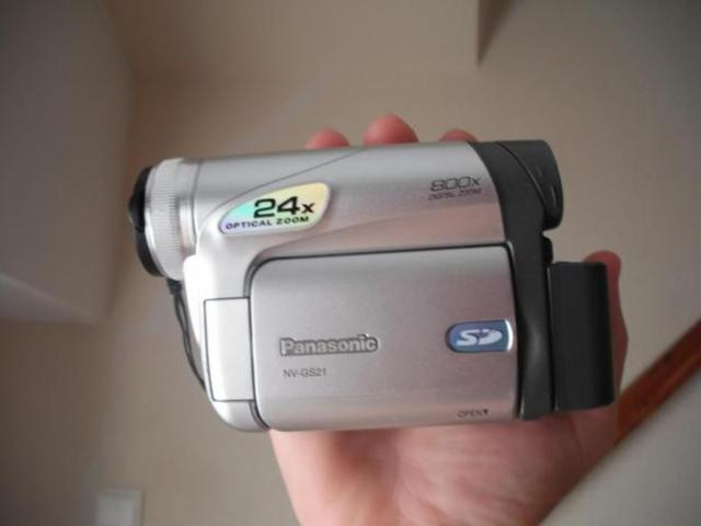Primera cámara de vídeo Madre Cris