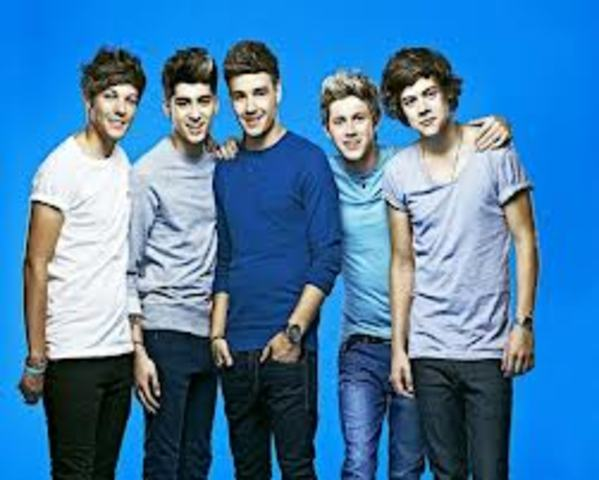 One direction became third in the X-Factor final.