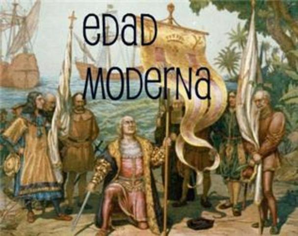 Época Moderna  (siglo XV al siglo XVIII)