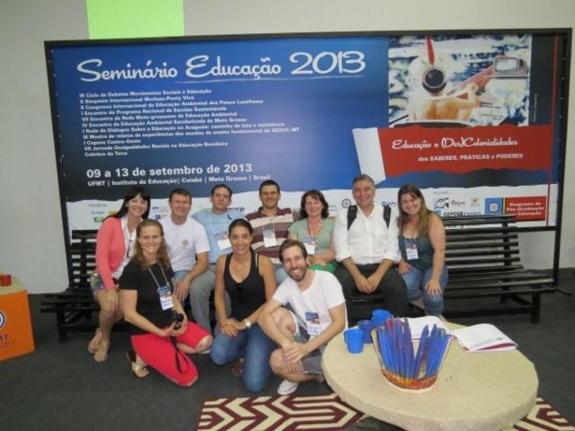 GESTORES MUNICIPAIS DE EDUCAÇÃO AMBIENTAL DA BP 3 PARTICIPAM DO SEMIEDU 2013