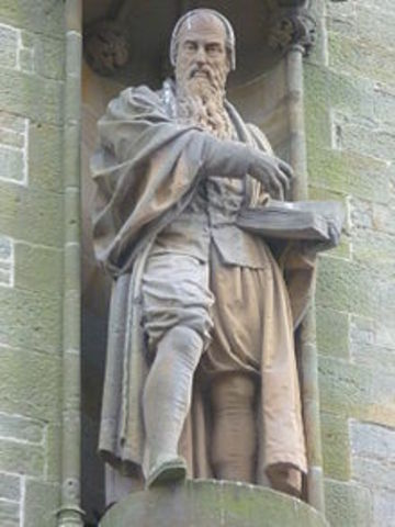 John Knox brings the reformation to Scotland