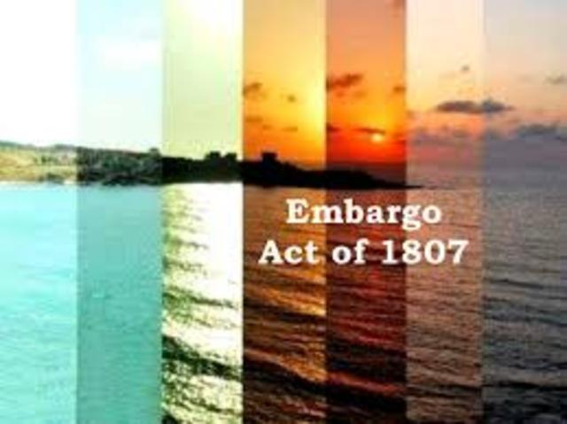 The Embargo Act