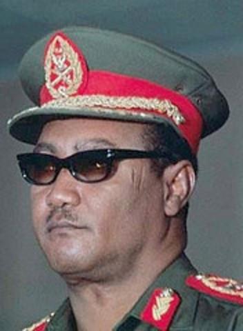Nimeiri Becomes President of Sudan