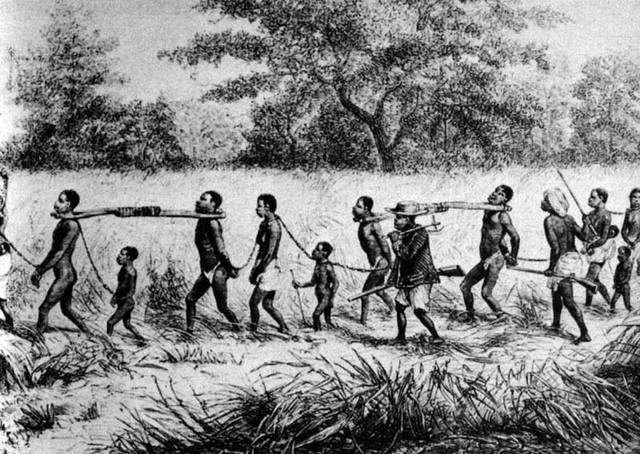 African Slaves in Hispaniola *